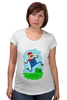 "Футболка для беременных ""Марио (Mario)"" - nintendo, mario, марио"