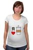 """Футболка для беременных """"Я люблю кофе"""" - любовь, я, кофе, coffee"""