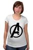 "Футболка для беременных ""Avengers"" - marvel, мстители, avengers"