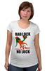 """Футболка для беременных """"Bad Luck"""" - bad, luck, bad luck, неудача, невезение"""