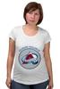 """Футболка для беременных """"Колорадо Эвеланш"""" - хоккей, nhl, нхл, колорадо эвеланш, colorado avalanche"""