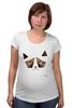 """Футболка для беременных """"Сердитый котик / Grumpy Cat (Art Nouveau)"""" - кот, котэ, grumpy, grumpy cat, сердитый кот, унылый кот, грампи, грумпи"""