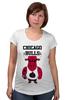 "Футболка для беременных ""Chicago Bulls"" - баскетбол, bulls, бык, chicago bulls, чикаго буллз"
