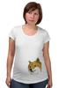"Футболка для беременных ""Doge WOW!"" - интернет, мем, wow, doge, собакен"