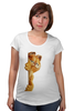 "Футболка для беременных ""Гарфилд"" - кот, рыжий, котейка, гарфилд, garfield"