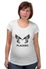 "Футболка для беременных ""Placebo (Wings)"" - wings, placebo, brian molko, брайан молко"