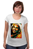 """Футболка для беременных """"Боб Марлей (Bob Marley)"""" - регги, боб марли, bob marley, reggae, ska, jamaica"""
