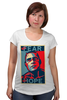 """Футболка для беременных """"Обама - No Hope"""" - политика, обама, hope"""