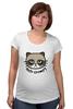 "Футболка для беременных ""Hello Kitty x Grumpy Cat"" - кот, кошка, grumpy cat, привет киска, сердитый котик"
