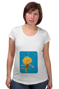 """Футболка для беременных """"Пчелка"""" - пчелка"""