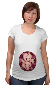 """Футболка для беременных """"Малышка бе-бе-бе"""" - популярные, в подарок, оригинально"""