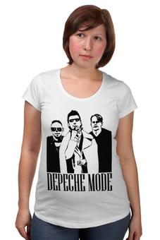 """Футболка для беременных """"Depeche Mode"""" - depeche mode, депеш мод"""