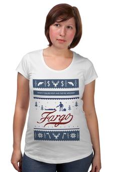 """Футболка для беременных """"Fargo (Фарго)"""" - фарго, fargo"""