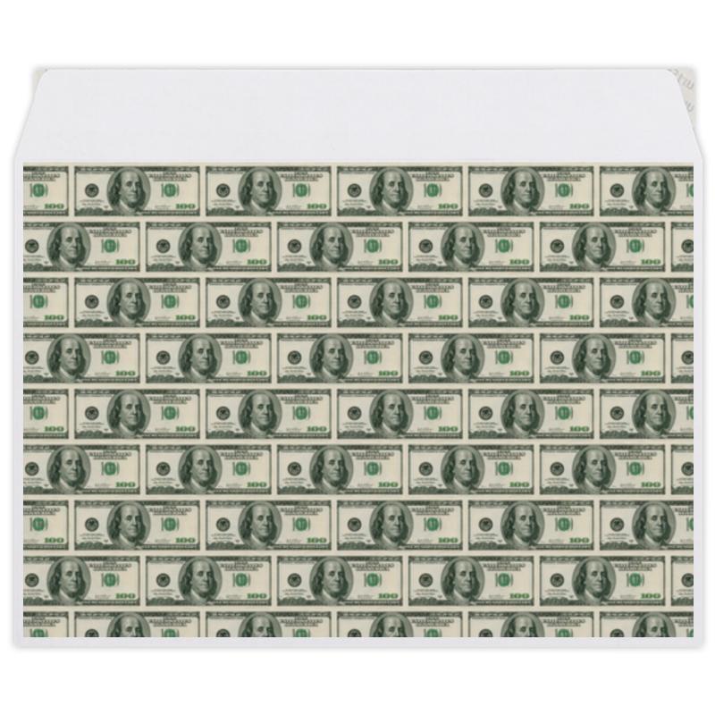 Конверт средний С5 Printio American dollars