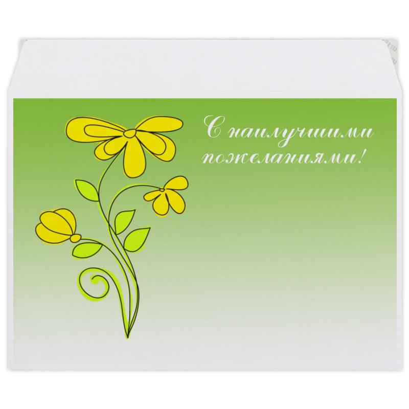 Конверт средний С5 Printio Полевые цветы. конверт средний с5 printio сова в наушниках