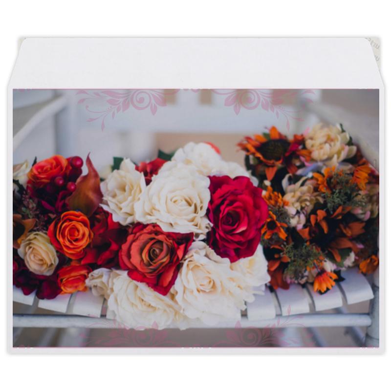 Конверт средний С5 Printio Свадебный букет конверт средний с5 printio розовые розы