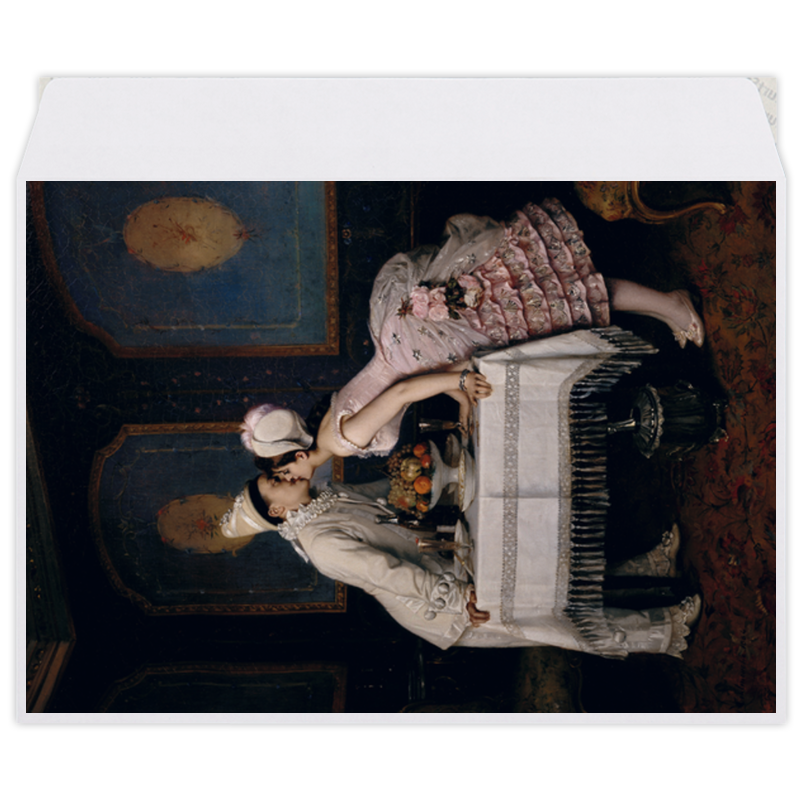 Printio Поцелуй (картина огюста тульмуша)