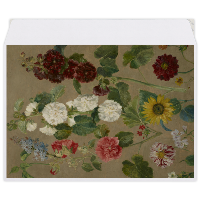 Printio Цветы (картина эжена делакруа)