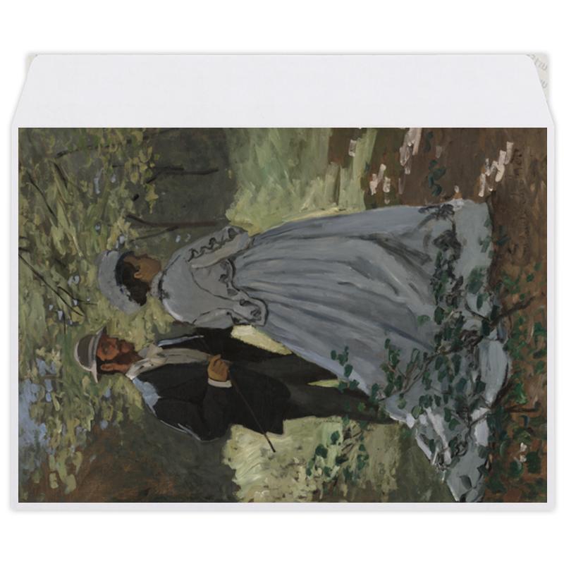 Printio Базиль и камилла (картина клода моне)