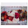 """Конверт средний С5 """"Свадебный букет"""" - цветы, узор, фото, свадьба"""