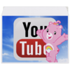 "Конверт средний С5 ""YouTube"" - logo, sky, youtube, cheer bear"