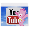 "Конверт средний С5 ""YouTube"" - logo, sky, youtube, cheer bear"