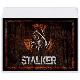 """Конверт средний С5 """"Сталкер"""" - кино, сериал, сталкер, чернобыль, зона отчуждения"""