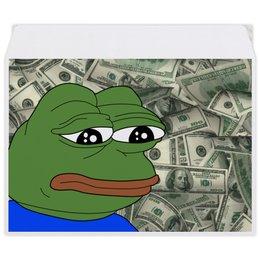 """Конверт средний С5 """"SAD FROG"""" - мем, meme, грустная лягушка, sad frog"""