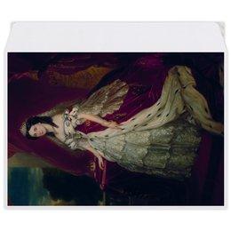 """Конверт средний С5 """"Портрет германской императрицы Августы"""" - картина, портрет, живопись, винтерхальтер, пруссия"""