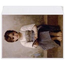 """Конверт средний С5 """"Трудный урок (картина Вильяма Бугро)"""" - картина, академизм, живопись, школа, бугро"""