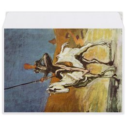 "Конверт средний С5 ""Дон Кихот (картина Оноре Домье)"" - картина, живопись, литература, домье"