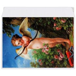 """Конверт средний С5 """"Амур, стреляющий из лука (Шарль-Андре ван Лоо)"""" - картина, шарль-андре ван лоо"""