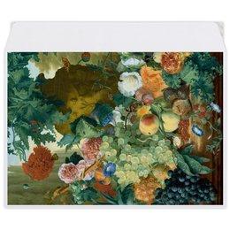 """Конверт средний С5 """"Фрукты и цветы (Ян ван Хёйсум)"""" - цветы, картина, живопись, натюрморт, ян ван хёйсум"""