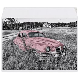 "Конверт средний С5 ""Раритет 1"" - автомобиль, машина, ретро, раритет, пейзаж"
