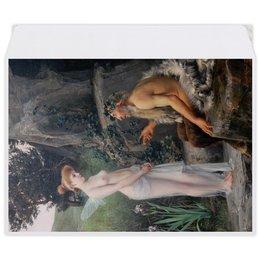 """Конверт средний С5 """"Пан утешает Психею (Эрнст Климт)"""" - картина, мифология, эрнст климт"""