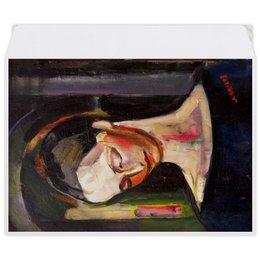 """Конверт средний С5 """"Женский портрет (картина Ильи Машкова)"""" - картина, портрет, живопись, машков"""