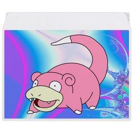 "Конверт средний С5 ""Слоупок"" - pokemon, покемон, пикачу, pikachu, pokemon go"