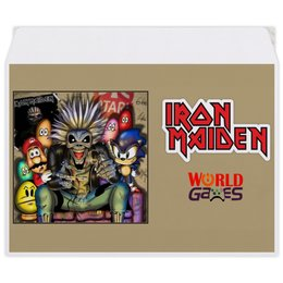 "Конверт средний С5 ""Iron Maiden"" - heavy metal, рок музыка, рок группа, iron maiden, айрон мэйден"