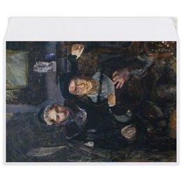 """Конверт средний С5 """"Гамлет и Офелия (картина Михаила Врубеля)"""" - картина, живопись, шекспир, литература, врубель"""