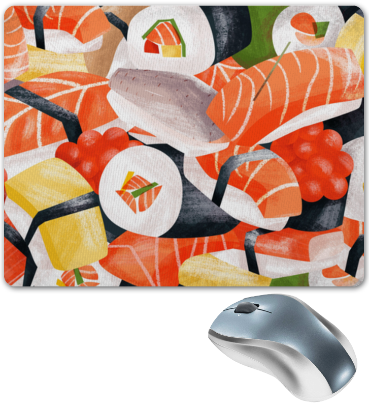 Коврик для мышки Printio Sushi korona sushi