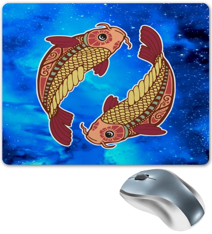 Коврик для мышки Printio Зодиак-рыбы