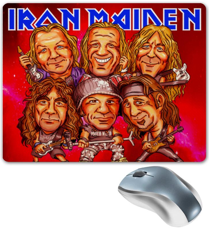 Коврик для мышки Printio Iron maiden band cd iron maiden a matter of life and death