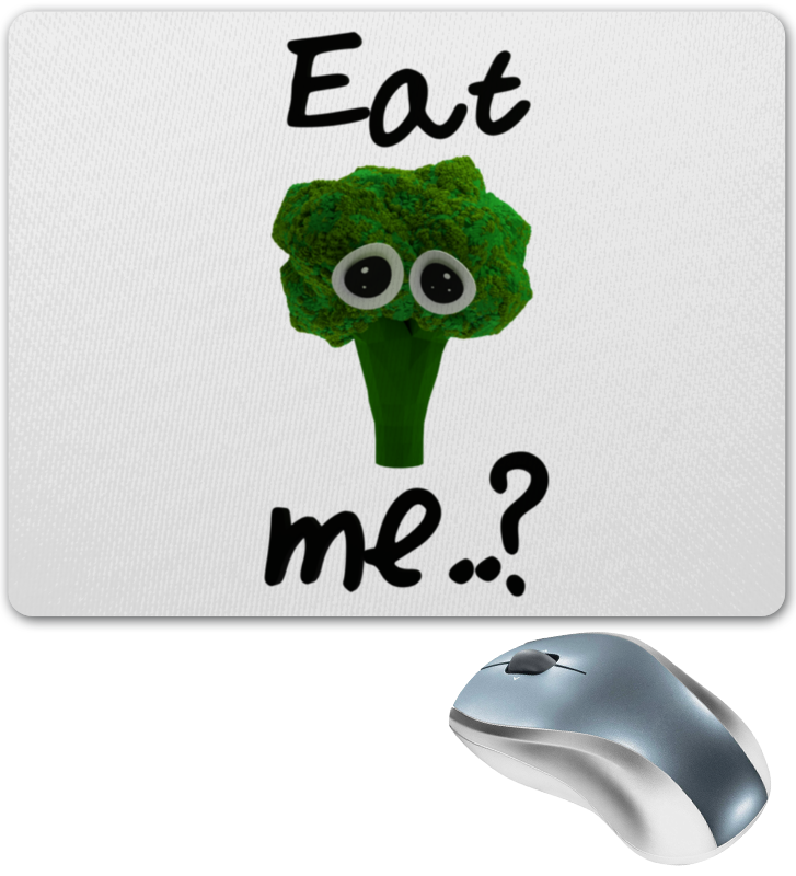 Фото - Коврик для мышки Printio Eat me..? футболка рингер printio do nut eat me не ешь меня
