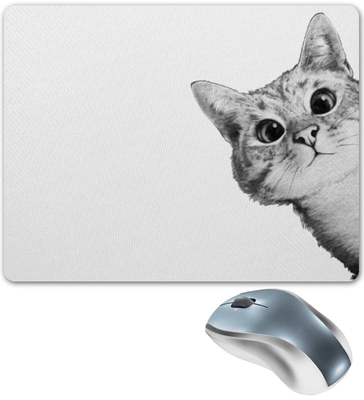 Коврик для мышки Printio Любопытный кот футболка стрэйч printio любопытный кот
