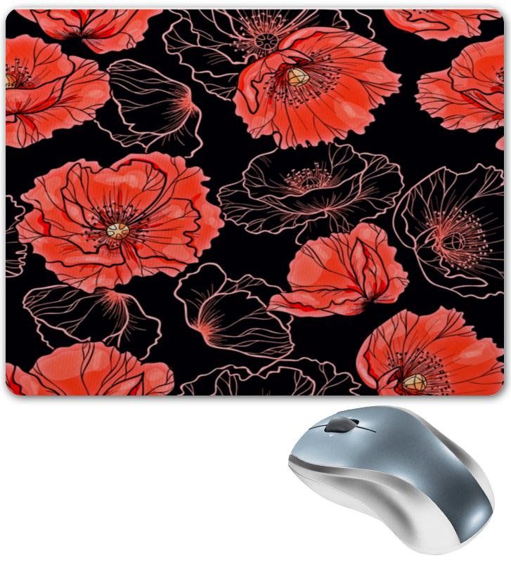 Коврик для мышки Printio Цветы флексика коврик пазл цветы