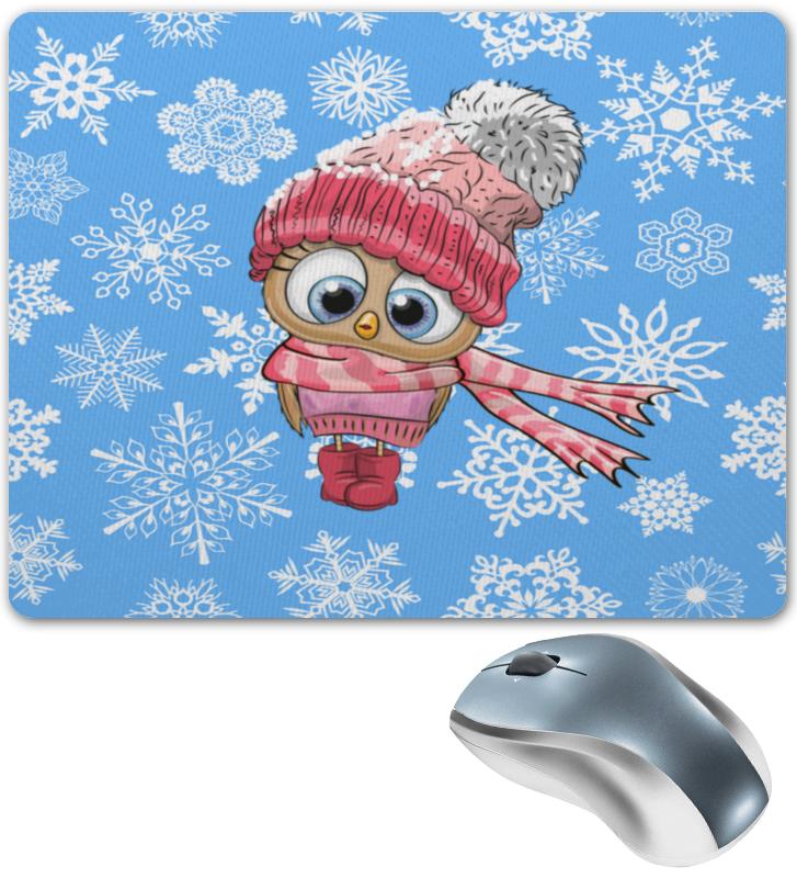Коврик для мышки Printio Сова в шапке sncn led daytime running light for opel mokka 2012 2013 2014 2015 car accessories waterproof abs 12v drl fog lamp decoration