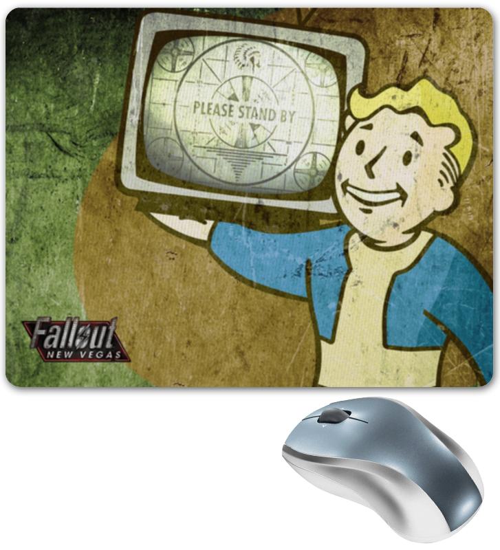 Коврик для мышки Printio Fallout new vegas: vault boy vegas душевая дверь vegas ep 70 профиль матовый хром стекло зебра
