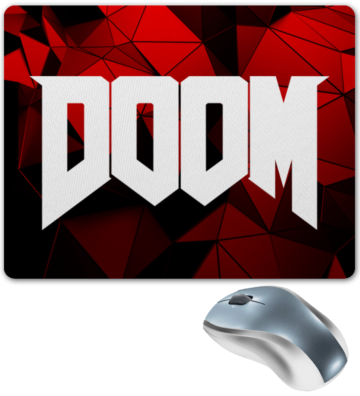 Коврик для мышки Printio Doom игра цены