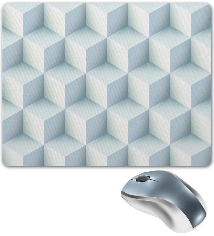 Коврик для мышки Printio Кубическая иллюзия опасная иллюзия