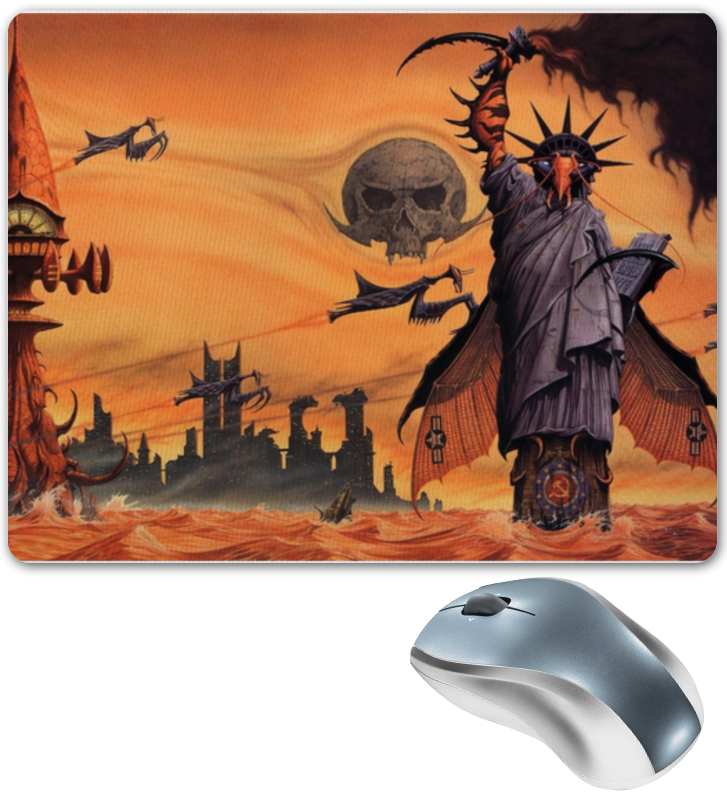 все цены на Коврик для мышки Printio Апокалипсис. конец света онлайн
